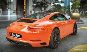 Porsche 911 Orange - first impression review porsche 911 carrera s an accessible daily