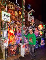 inside britain u0027s most festive home with more than 20 000 bulbs