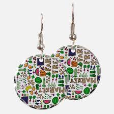 food earrings food earrings food designs on earring food ear rings cafepress