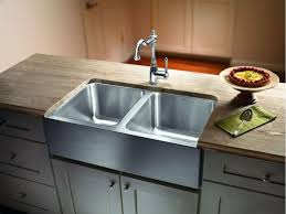 how to install stainless steel farmhouse sink stainless steel farmhouse sink for kitchens farmhouses with regard