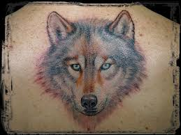 alpha wolf tattoos