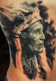 indian chief skull meaning indian tattoos on