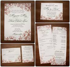 wedding invitations packages fall wedding invitations packages invitations cards archives