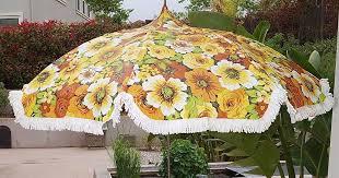 Floral Patio Umbrella 60s 70s Mid Century Floral Patio Umbrella Hd Wallpaper And Desktop