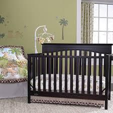 bedroom bedroom interior black wooden mahogany baby boys crib