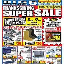 Is Sporting Goods Open On Thanksgiving Big 5 Sporting Goods Black Friday 2017