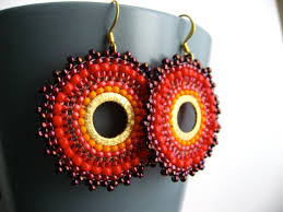 Ruby Red Long Brick Stitch 253 Best Circular Brick Stitch Earrings Images On Pinterest Bead