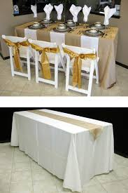 Banquet Table Linen - how to choose the right table linen size for your wedding or event