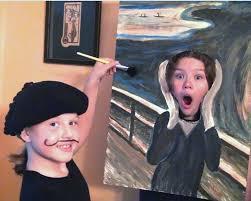 Scream Halloween Costumes Halloween Costume 2011 Edvard Munch Scream Kids