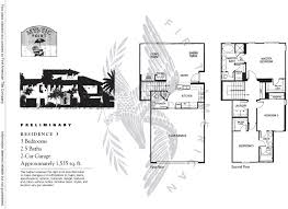 Tamarack Floor Plans by Mystic Point At Calavera Hills Floor Plan For Residence 3
