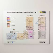 Fire Evacuation Plan Office by Tagevac Custom Emergency Evacuation Solutions