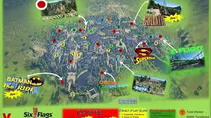 Six Flags Great Adventure Map Promo Vidéo Six Flags Xtrem Adventure Planet Coaster Youtube