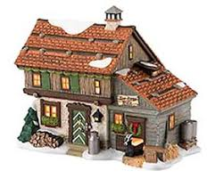department 56 collections and sets displays