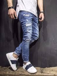 Mens Destroyed Skinny Jeans 90 Best Jeans Joggers U0026 Pants Images On Pinterest Jogger Pants