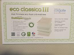 colgate crib mattress colgate eco classica iii dual firmness foam review