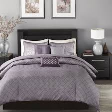 madison park morris purple duvet cover set free shipping today