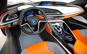 bmw concept i8 futuristic car bmw i8 concept spyder interior seats automotive