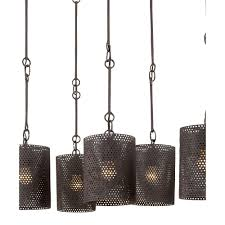 furniture hanging old black iron chandeliers with round wire lamp