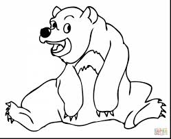 spectacular sun bear coloring page with bear coloring page