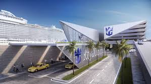 royalcaribbean royal caribbean signs agreement with miami dade county to build