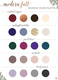 fall wedding color palette everything you need to about fall weddings tips for