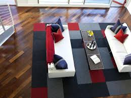 flooring modern living room design with elegant flor carpet tiles