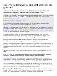 how to write a termination of employment letter uk compudocs us
