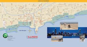 Chicago To Atlanta Map by Chicago Maps Illinois U S Maps Of Chicago