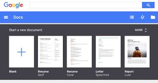 Google Docs Templates Resume Templates Insights And Dictation In Google Docs