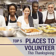 volunteer on thanksgiving senioradvisor