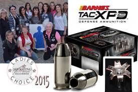 Barnes Tac Xpd 380 Ladies Choice Awards Presented To 15 Shooting Industry Leaders At