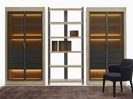 Display Cabinet With Lighting Eracle Display Cabinet With Integrated Lighting By Maxalto