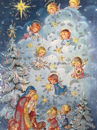 892 best vintage adventkalender and christmas cards images on