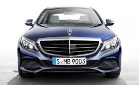 mercedes drops ornament from c class news car and