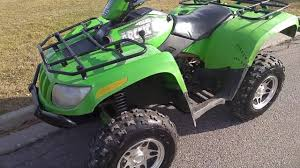 2005 arctic cat atv 500 manual review youtube