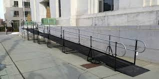 Wheelchair Ramp Handrails Commercial Wheelchair Ramps Amramp