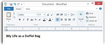 Count Words In A Document In Wordpad Wordpad Windows 8 1 The Missing Manual Book