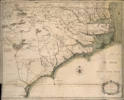 Blank Map Of The 13 Colonies by A New And Correct Map Of The Province Of North Carolina The