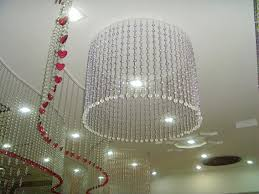 Decorative Curtains Decor Curtain Glass Pearl For Wedding Decor Hanging Door