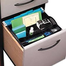 file cabinet drawer organizer amazon com rogers r hanging drawer organizer black office desk