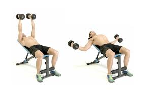 Incline Dumbell Bench Press How To Do The Dumbbell Incline Fly Men U0027s Health