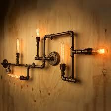 Plumbing Pipe Floor Lamp by Plumbing Pipe Lights