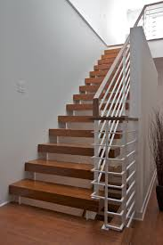 Glass Stair Banister Stair Elegant Staircase Design Ideas With Contemporary Stair