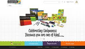 classmate product itc classmate web design on behance