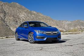2016 honda civic coupe first test review motor trend