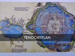 Tenochtitlan Map Título By Crys Herrera