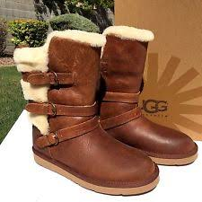s ugg australia brown grandle boots ugg australia buckle mid calf boots for ebay