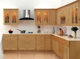 Kitchen Cabinets Plywood by Baffling L Shape White Plywood Kitchen Cabinets Featuring Wall