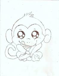 cute baby monkey coloring pages arterey info