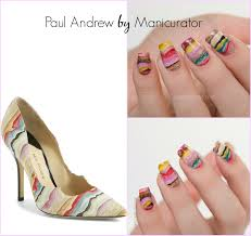 nail art fashion week 2015 day 2 shoes paul andrew